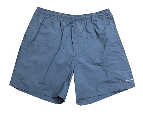 Columbia Mens PFG Clearwater Shores Omni-Shade UPF 50 Swim Trunk (XL, Cadet Blue) (Fishing Swim Trunks)