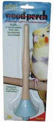 (JW Pet Company Insight Wood Perch Bird Accessory, Regular)