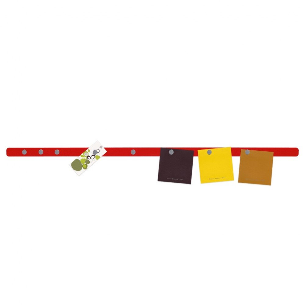 8 Magneten selbstklebend farbig inkl Magnetleiste SKINNY 600 x 20mm