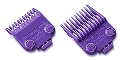 Andis Master Clipper Magnetic Comb Set - Dual Pack sizes 0.5 & 1.5, 04120