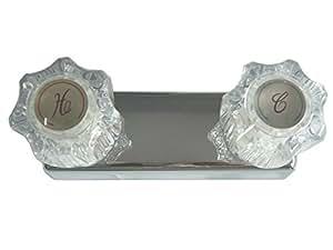 """StoneCrest Dual Control 4"""" Non-Metallic Shower Faucet"""