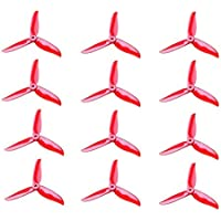 6 Pair DALPROP T5045C Cyclone 5 Inch 3 Blade Propeller Clover Prop for RC Drone FPV Racing-Red