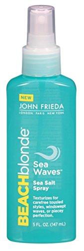 - John Frieda Beach Blonde Sea Salt Spray 5 Ounce (Sea Waves) (145ml) (2 Pack)