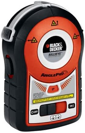 BLACK+DECKER Line Laser, Auto-Leveling With AnglePro (BDL170)
