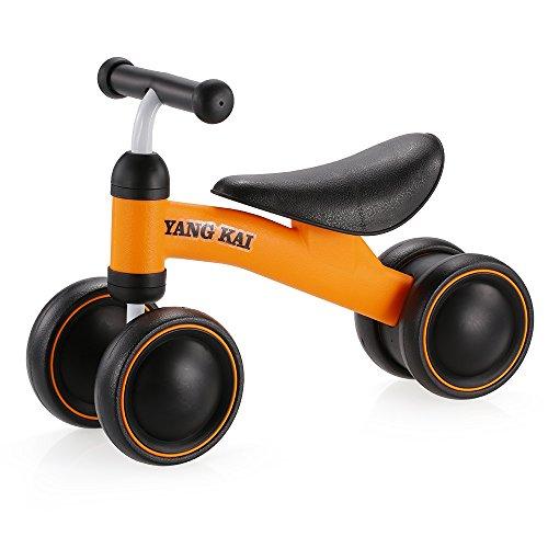 🥇 Goolsky Yang Kai Q1 + Baby Balance Bicicleta Aprender a Caminar sin Pedal de Montar a Caballo de Juguete