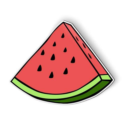 AK Wall Art Watermelon Slice - Magnet - Car Fridge Locker - Select Size (Magnets Watermelon)