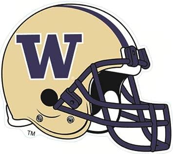 online retailer dba15 c4d41 Amazon.com: 6 Inch Football Helmet UW W University of ...
