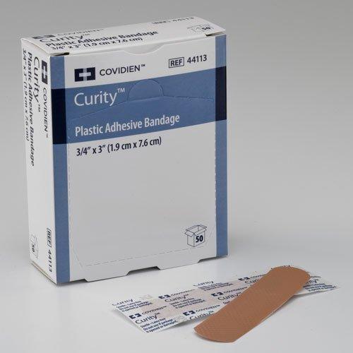 Covidien 44120 Curity Spot Sheer Adhesive Bandage, 7/8