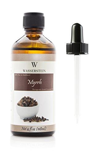 - 4 oz Myrrh Aromatherapy 100% Pure Basic Essential Oil by Wasserstein