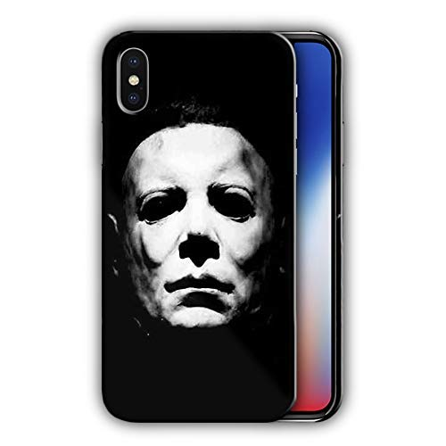 Hard Case Cover Halloween Desing Compatible with iPhone X (hall2)]()