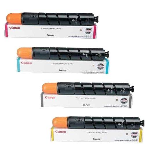 Canon GPR-36 Toner Cartridge Set (OEM 3782B003AA. 3783B003AA. 3784B003AA. 3785B003AA)
