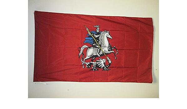 Banner 3x5 ft with Hole Drapeau URSS AZ FLAG USSR Flag 3 x 5 for a Pole Red Communist Flags 90 x 150 cm