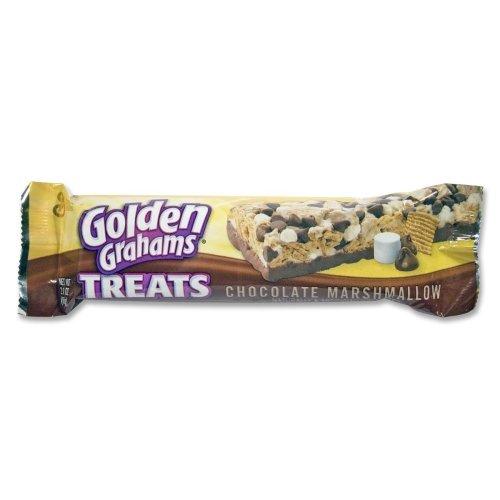 (Golden Grahams Treats Chocolate Marshmallow | Kids Favorite Snack | 2.10 Ounce - 12 Pack)