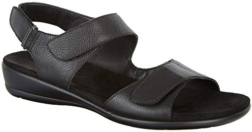 - Easy Spirit Womens Hartwell Open Toe Casual Slingback Sandals, Black, Size 7.5