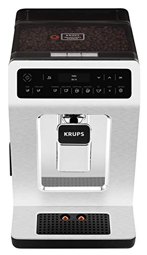 KRUPS EA89 Deluxe One-Touch Super Automatic Espresso and Cappuccino Machine, 15 Fully Customizable Drinks,Gray by KRUPS (Image #4)