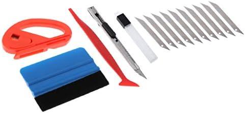 balikha Installeer de kit met een 5in1 vinyl rakelschraper voor autofolie