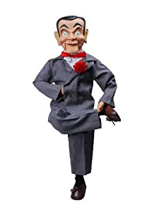 "Slappy Dummy, Ventriloquist Doll ""Star of Goosebumps"", Famous Ventriloquist Dummy. Has glow in the dark eyes. BONUS E-Book 'How to Be a Ventriloquist'"