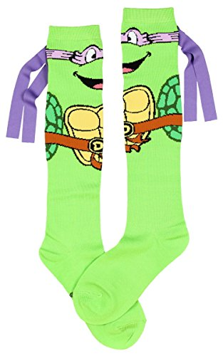 Teenage Mutant Ninja Turtles Don With Mask Knee High Socks]()