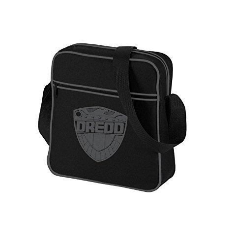 Judge Dredd Badge Official Mens New Black Mini Messenger Bag