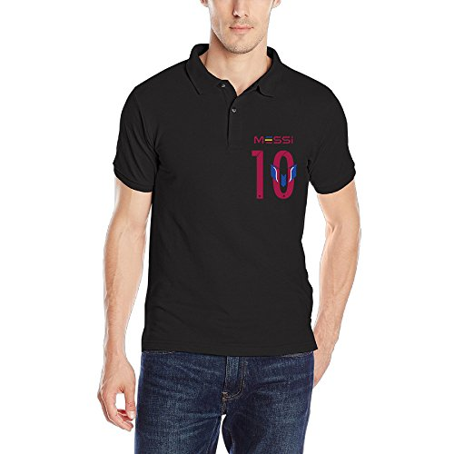 lionel-messi-10-man-brand-polo-teeshirts-size-xl-color-black