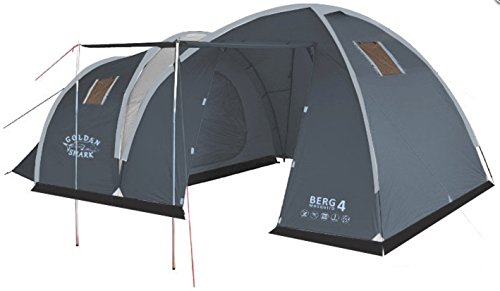 GoldenShark-BERG-4-Mosquito-Full-Size-4-Person-Tent-2-Doors-and-Lange-Vestibule-Dual-Layer-Waterproof-Backpacking-Tent-for-Outdoor-Sports-Camping-Hiking-Beach-activity