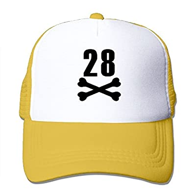 Baseball Cap Birthday 28 Adjustable Snap Back Sports Custom Mesh Trucker Hat from Swesa