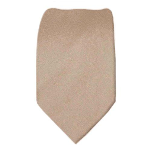 Solid Color Men's Skinny Narrow Necktie Tie -