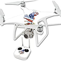 Skin For DJI Phantom 4 Quadcopter Drone – American Eagle | MightySkins Protective, Durable, and Unique Vinyl Decal wrap cover | Easy To Apply, Remove, and Change Styles | Made in the USA