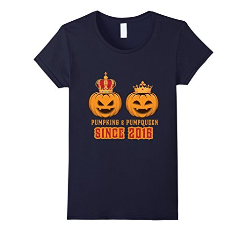 Best Couples Halloween Costumes 2016 (Womens Cool T-shirt for Best Couple Since 2016, Halloween Gifts XL Navy)