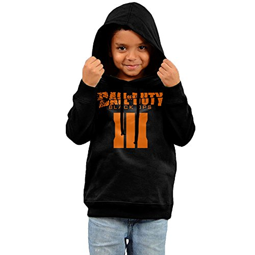 FGFD Toddler Call Of Duty Black Man III Unisex Hoodies Black Size 2 Toddler