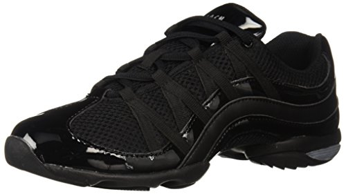 Bloch Wave Dance Sneaker (9 - Mens Patent Sneakers Stripe