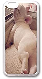 Custom Iphone 6 Case,Position the lovely dog Custom TPU Transparent Iphone 6(4.7) Cases