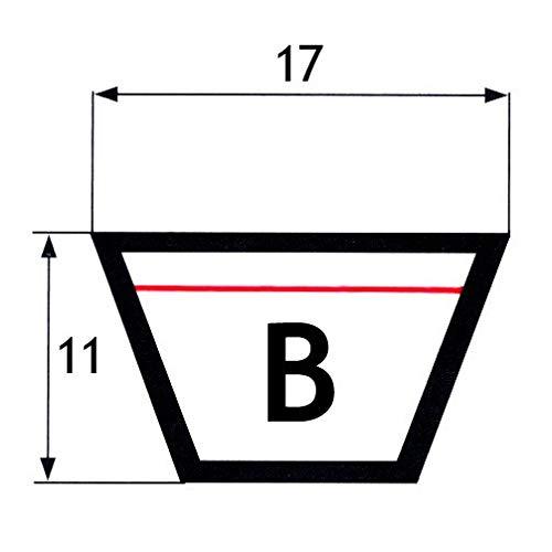 17x11x1143 Courroie trap/ézo/ïdale B 45 mm