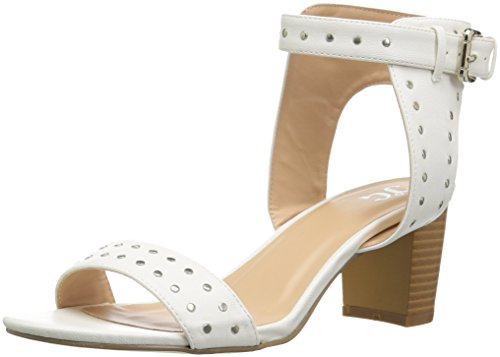 Brinley Co Women's Margo Pump White bLmeZuyM