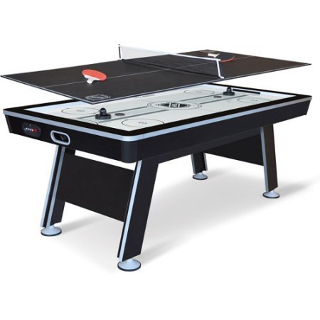 Why Should You Buy [US STOCK] Youzee NHL 80 Air Powered Hockey with Table Tennis Top