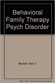 Book Behavioral Family Therapy Psych Disorder