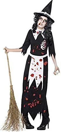 Ladies Halloween Stripey Tights Fancy Dress Costume Accessory Witch Doll Zombie
