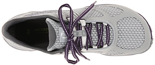 Women's Glove Trail Light 3 Grey Running Purple Shoe Parachute Merrell Pace BdEfwnBq