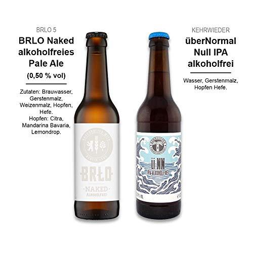Foodist Craft Beer | alkoholfrei | 6er Bier Box