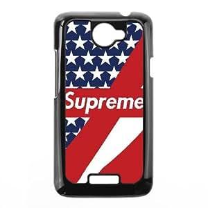 Printed Cover Protector HTC One X Cell Phone Case Black Supreme Qhztw Unique Design Cases