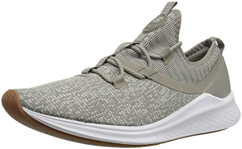 New Balance Fresh Foam Lazr v1 Sport Running Shoe Military Urban Stone Grey/White Munsell, 12 M US Women / 9.5 M US Men
