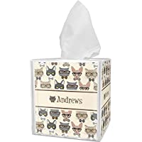 RNK Shops Hipster Cats Tissue Box Cover (Personalized)