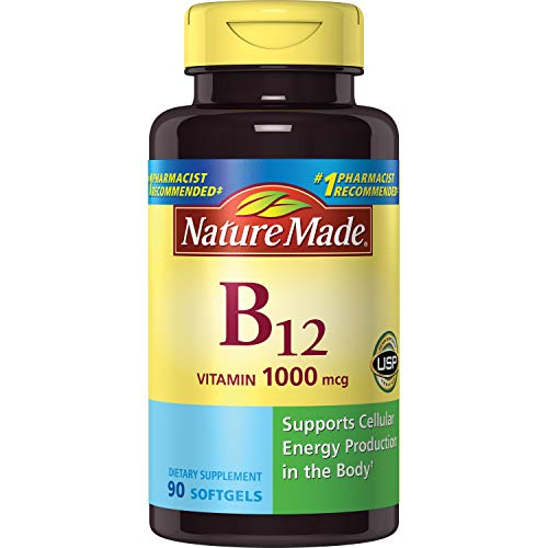 Top 9 B12 Nature Made 90 Softgels