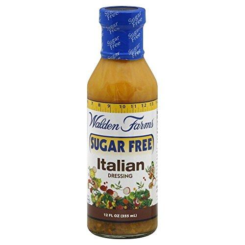 Walden Farms Salad Dressing Italian Sugar Carb Free 12.0 Oz(pack of (Carbs Italian Dressing)
