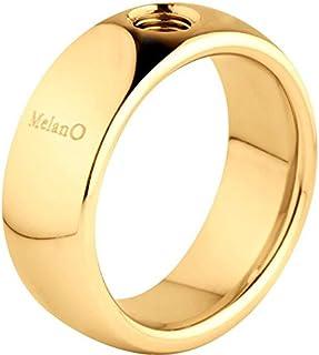 Melano Vivid anello 8mm Gold m01r9010g08mm di 60 M01R9010G08MM-60