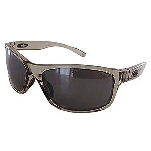 Revo Harness RE 4071 00 GY Polarized Wrap Sunglasses, Greige, 61 mm
