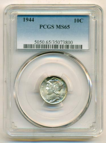 1944 Mercury Dime MS65 PCGS