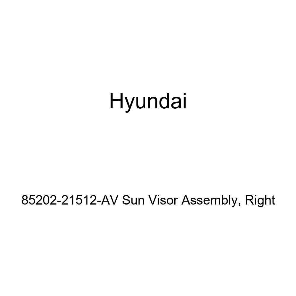 Right Genuine Hyundai 85202-21512-AV Sun Visor Assembly