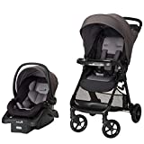 Carriola Safety 1st Smooth Ride, Sistema de viaje, Color Gris