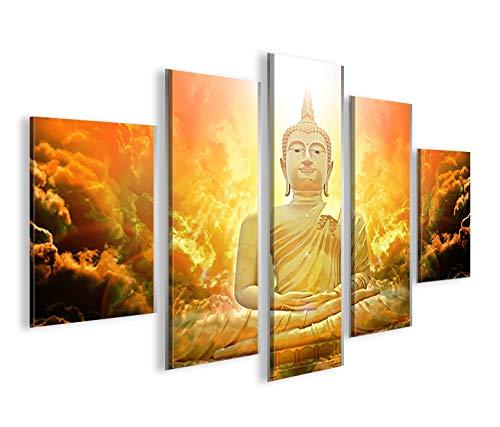 De Imágenes sobre lienzo Zen Buda V3 MF abstracto Yoga XXL ...